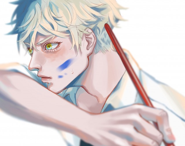 Yatora Yaguchi, Blue period Wallpaper, Digital Art, Anime, HD Wallpaper