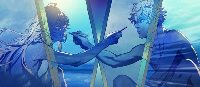 Ryuuji Ayukawa, Yatora Yaguchi, Blue period HD Wallpaper, Art, Digital Art, Yatora Yaguchi