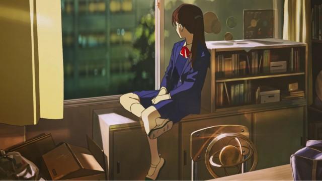 Summer Ghost Wallpaper, Aoi Harukawa, Tomoya Sugisaki, Ryou Kobayashi, Ayane Satou, Anime Art