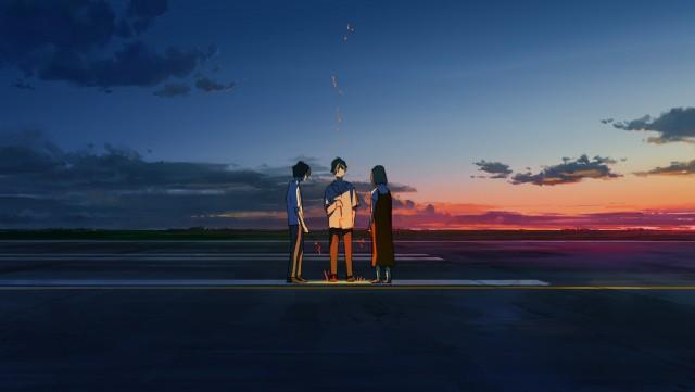 Aoi Harukawa, Tomoya Sugisaki, Ryou Kobayashi, Ayane Satou, Summer Ghost Wallpaper