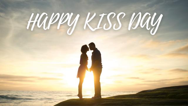 HAPPY KISS DAY – 13 FEB 2022, SUNDAY,  Happy Valentine HD Images 2022