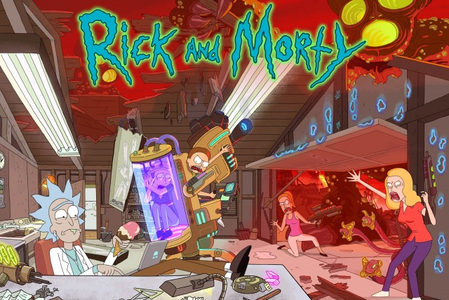 Rick and Morty, Summer Smith, Rick Sanchez, Morty Smith, Beth Smith, Jerry Smith HD Wallpaper