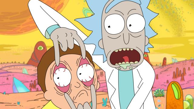 TV Show, Rick and Morty, Rick Sanchez, Morty Smith Eye HD Wallpaper