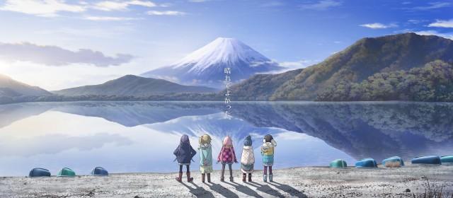 Girls And Mount Fuji Scenery Wallpaper 3200x1400