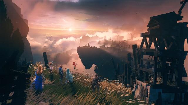 PS5 Grandblue Fantasy Relink Game Landscape Scenery 4K Wallpaper 3840x2160