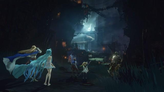 4K Grandblue Fantasy Relink PS5 Wallpaper
