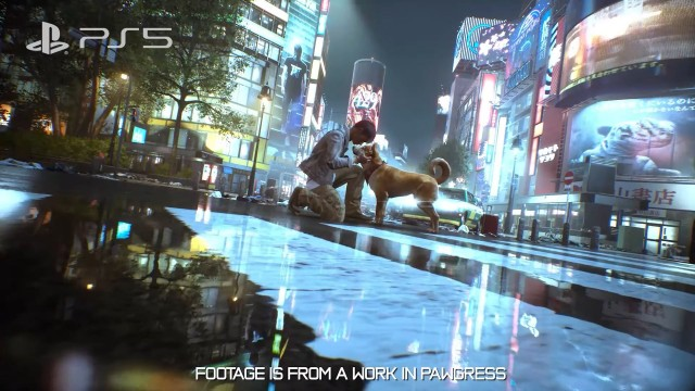 The Ghostwire: Tokyo Dogs Can Be Petted, PlayStation 5