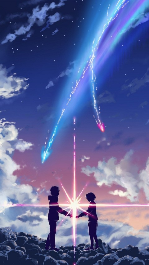 Anime Aesthetic iPhone Wallpaper, Your Name iPhone, iPhone 13 PRO Wallpapers