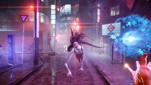 Ghostwire Tokyo Wallpapers Hannya Trailer