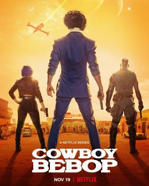 Spike Spiegel, Faye Valentine, Jet Black, cowboy bebop 2021 Wallpaper, cowboy bebop Netflix Poster