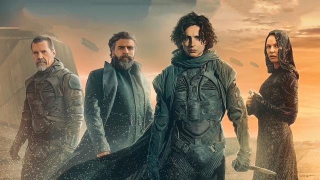 Poster of Dune 2021 Wallpaper 4K