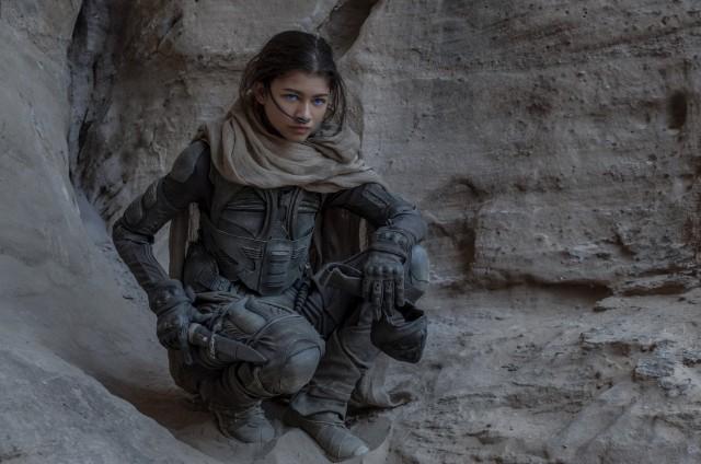 Zendaya Chani Dune Movie Wallpaper