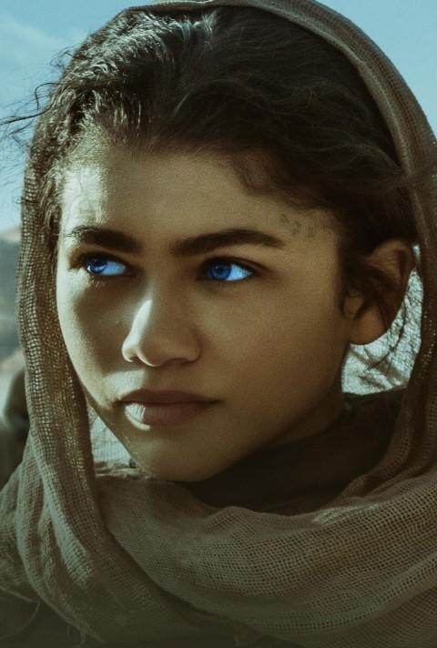 Zendaya Chani Dune Movie 2021 4K Wallpaper