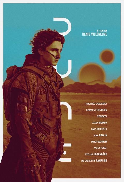 Dune HD 2021 Movie Poster Wallpaper, Dune Aesthetic Wallpaper