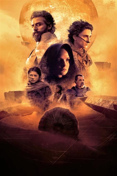 Poster of Dune 2021 Wallpaper