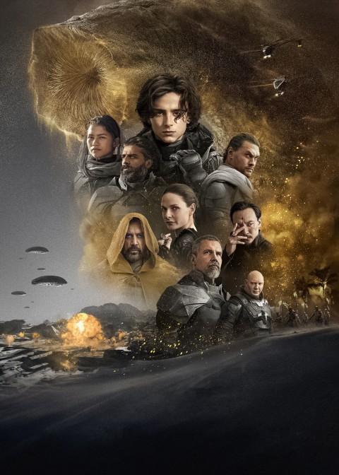 Poster of Dune 2021 Wallpaper, Dune 4K Wallpaper