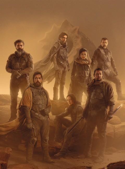 Dune HD 2021 Movie Poster Wallpaper, Dune 4K Wallpaper